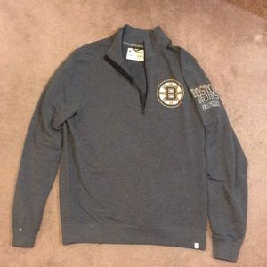 63317acab Boston Bruins 47 Brand Pullover Jacket Never Worn